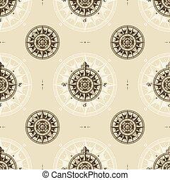 középkori, szüret, tengeri, seamless, rózsa, motívum, felteker