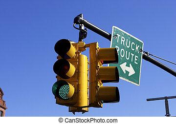közlekedési lámpa