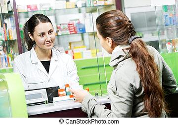 køb, medicinsk, medicin, apotek