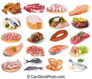 kød, samling