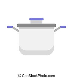 køkken, redskaberne, samling