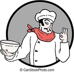 küchenchef, ikone