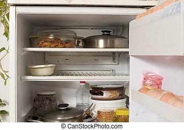 temperatur k hlschrank storage lebensmittel regal innenseite thermometer oberseite k hl. Black Bedroom Furniture Sets. Home Design Ideas