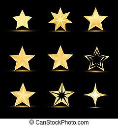 különböző, csillaggal díszít