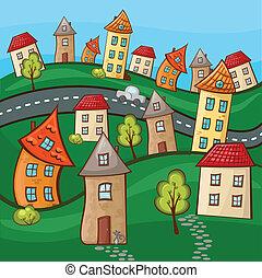 külvárosok, épület