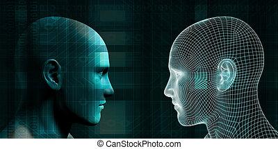 künstlich, begriff, intelligenz