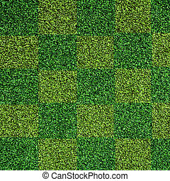 künstlich, grünes gras, beschaffenheit