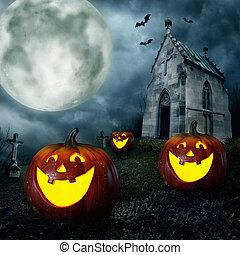 kürbise, halloween
