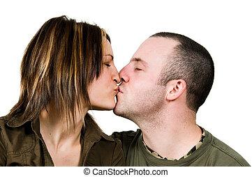 küssende