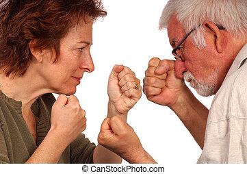 küzdelem, azt, ki
