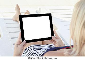 kąpanie się, tabliczka, ekran, odizolowany, rozwalanie się, ...