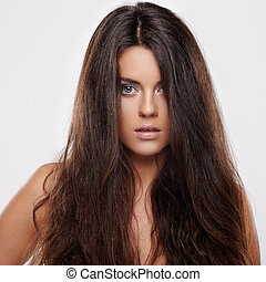 kędzierzawy włos
