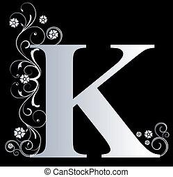 k, carta, capital