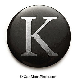 k, latim, letra