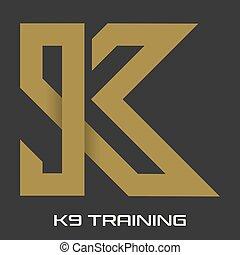 K9 training logo