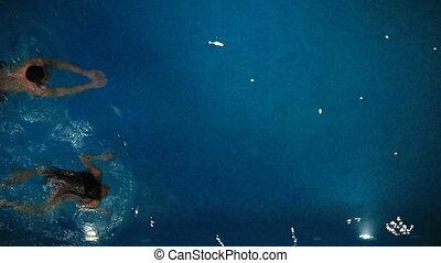 kałuża, pływacki