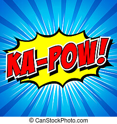 Ka-Pow! Comic Speech Bubble