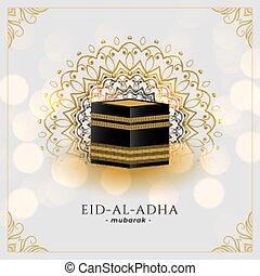 kaaba, islámico, hajj, santo, plano de fondo, mecca, saludo