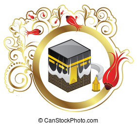 Kaaba Shrine. - Muslim places of worship. Place of...