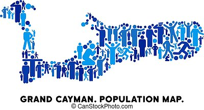 kaaiman, voornaam, mensen, eiland, kaart