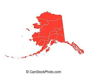 kaart, alaska