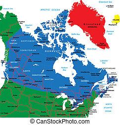 kaart, canada