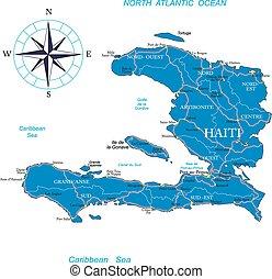 kaart, haïti