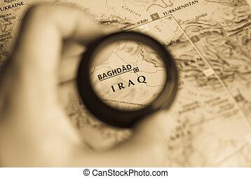 kaart, irak