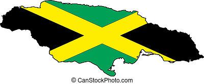 kaart, jamaica