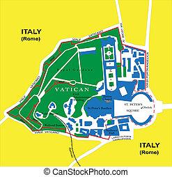 kaart, vatican