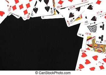 kaart wedstrijd, frame