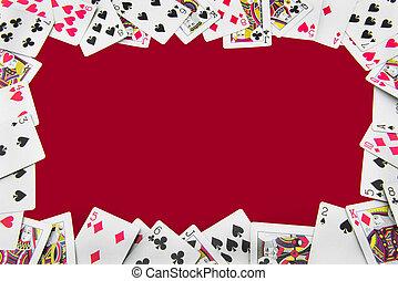 kaarten, alles, spelen rondom