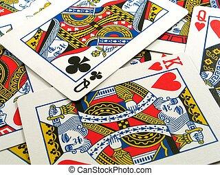 kaarten, gezicht