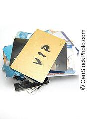 kaarten, wereld, plastic
