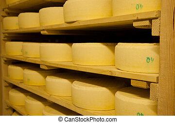 kaas, fabriekshal