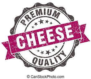 kaas, grunge, viooltje, vrijstaand, zeehondje, witte