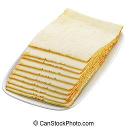 kaas, schijfen
