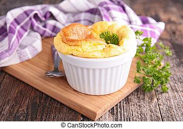 kaas, soufflé