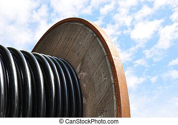 kabel, haspel