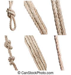 kabels, beige