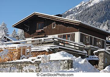 kabina, alpejski