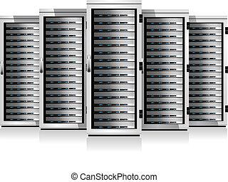 kabinetter, server