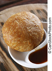 Kachori is a spicy snack from India - Kachori or Kachauri is...
