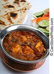 Kadai paneer curry - Kadai paneer cheese curry in a cardamon...