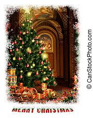 kadootjes, cg, kerstmis, 3d