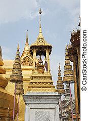 kaeo, emeral, phra, temple, wat