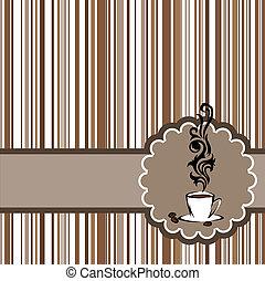 kaffe, 2, kort