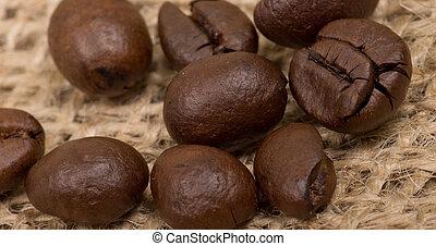 kaffe böna, sack(burlap)