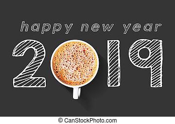 kaffe, begrepp, 2019