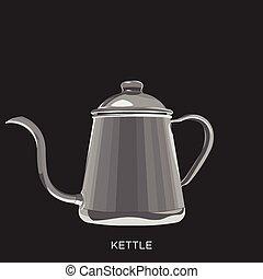 kaffe kokkärl